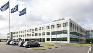 GN Store Nord - Bygning + flag