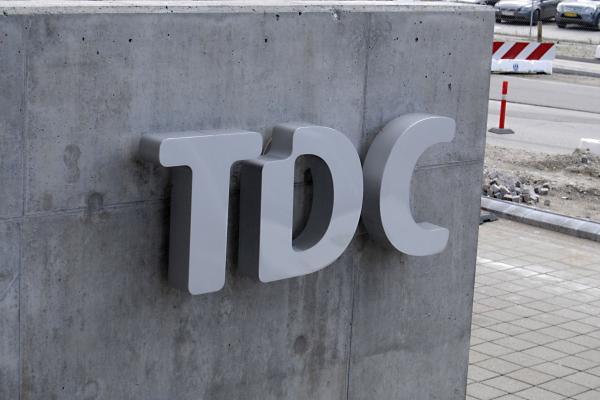 TDC - skilt