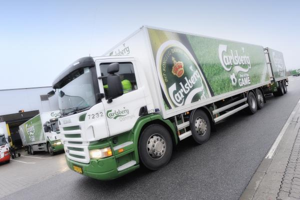 Carlsberg - Logistik (lastbil)